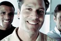 Confident Smiling Man