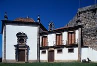 Church of Our Lady of the Incarnation, 17th century, Castle of Santa Maria da Feira, Portugal.