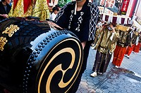 Parade during Sanja Matsuri,Asakusa Tokyo city, Japan, Asia