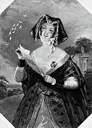 Actress Mrs. Ford in Act I, Scene I from Merry Wives of Windsor, by William Shakespeare 1564_1616 Print, 19th century