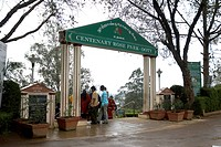 Main entrance of Rose Garden , Ooty , Ootacamund , Tamil Nadu , India