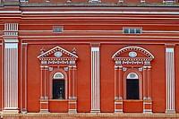 Heritage building Sawai Man singh town hall , Jaipur , Rajasthan , India