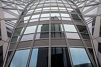Cocoon Building in Nishi Shinjuku Tokyo city, Japan, Asia