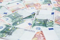 Close_up of Euro Paper Money