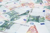 Close_up of Euro Paper Money