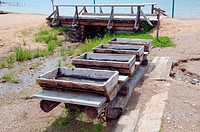 Old Gold mining artel  Settlement Talzy, Irkutsk region, Baikal, Siberia, Russian Federation