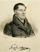 Portrait of Ignaz Ritter von Seyfried (Vienna, 1776 - Vienna, 1841), Austrian composer and conductor, 1826.  Vienna, Historisches Museum Der Stadt Wie...