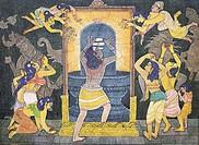 Artist S. Rajam , hindu belief , hindu , hinduism , art , himalayan academy art , samadhi , self_realization , self , linga , shiva , sadhu , yoga , m...