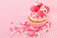 Cupcake for a baby girl