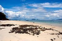 Beach Koh Naka Noi island