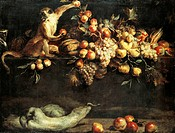 Still life, by Frans Snyders (1579-1657).  London, National Gallery