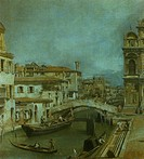 Church of Saints John and Paul with the school of San Marco, 1725, by Giovanni Antonio Canal, known as Canaletto (1697-1768), oil on canvas, 125x165 c...
