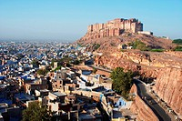Mehrangarh fort ; Jodhpur ; Rajasthan ; India