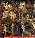 Hell, detail from Last Judgment, 1460_1465, by Giovanni di Paolo active from circa 1420_1482