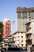 Buildings ; R. S. Nimbkar road ; Grant road ; Bombay now Mumbai ; Maharashtra ; India