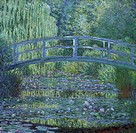 The Waterlily Pond: Green Harmony, 1899, by Claude Monet (1840-1926).  Paris, Musée D'Orsay (Art Gallery)