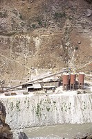 Nathpa khakri power project ; Himachal Pradesh ; India