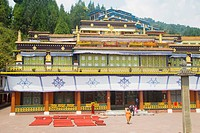Rumtek monastery ; Sikkim ; India