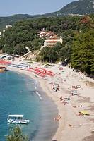 valtos beach, parga, epirus, greece, europe