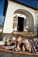 Shop of souvenirs ´Mouth of Hell´  Cascais, Lisbon, Portugal, Europe