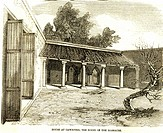 House of Cawnpore , the scene of the massacre , India