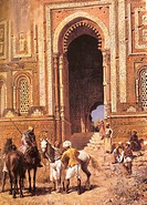 Gateway of Alah_ou_din , Old Delhi , India