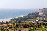 Scenery of  Ganpatiphule ; Maharashtra ; India
