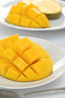 Mango, cut into cubes