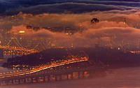San Francisco and Fog
