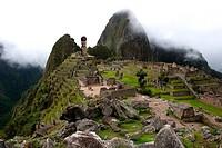 Moai in Machu Pichu