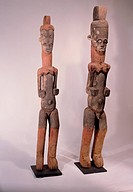 fine arts, Africa, sculpture, Ibo ancestor figures, wood carving, Nigeria, private collection,