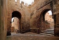 Alcazaba Badajoz Extremadura Spain.