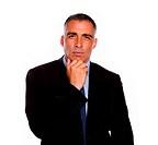 Charming latin businessman thinking