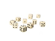 Rolled dices