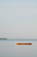Canoe in the Cispata Bay, San Antero, Cordoba, Colombia