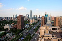 Aerial view,Beijing,China
