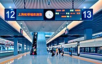 Shanghai Hongqiao Railway Station,Shanghai,China