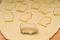 piggy cookies, new years biscuits