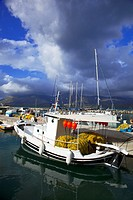 Greece, Ionian, kefalonia: port of Lixouri