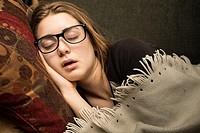 girl, 17, sleeping