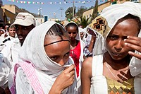 Timkat The Festival of Epiphany, Gondar, Ethiopia