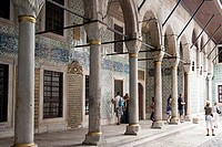 The Imperial Harem in Topkapi palace
