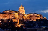 Royal Palace, Budapest  Hungary, Europe
