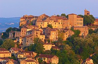 Cordes Sur Ciel, Cordes-sur-Ciel at Dawn, Tarn Department, Midi-Pyrenees, France, Europe
