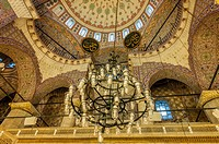 New Mosque, dome, cupola, Istanbul, Old city, Turkey