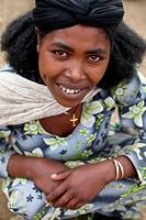 Lalibela woman, Ethiopia.