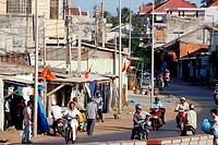 Street in Mui Ne, Vietnam.