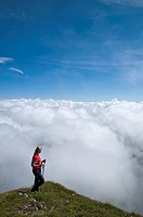 over the clouds, Austria