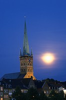 St. Petri_Church, Hanseatic City Luebeck, Schleswig_Holstein, Germany
