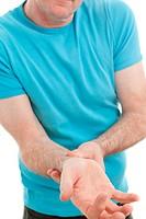 Wrist Pain Senior.